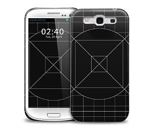 Sketchy Samsung Galaxy S3 GS3 protective phone case