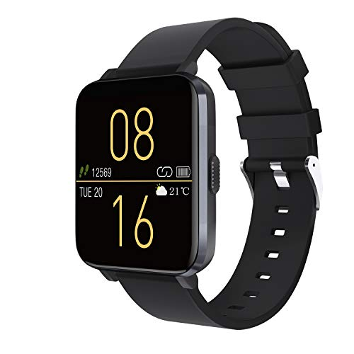 Kalakate Smart Watch for Men Women, IP68 Waterproof Fitness Tracker for Android iOS Phones, Smartwatch with 1.54
