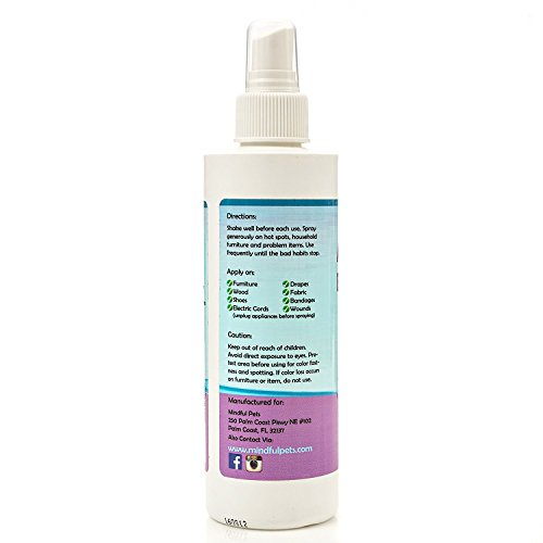 Mindful Pets Anti Chew Bitter Spray With Tea Tree Oil For