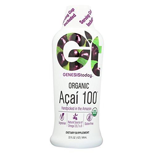 Acai100 100  Acai Juice Supplement By Genesis Today   32Oz