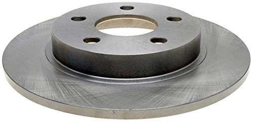 (ACDelco 18A953A Advantage Non-Coated Rear Disc Brake Rotor)