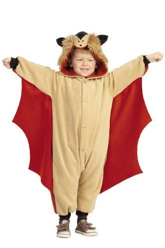 Funsies Skippy Flying Squirrel Fleece Jumpsuit Costume Child Toddler Select Size Toddler 3-4T  sc 1 st  Amazon.com & Amazon.com: Funsies Skippy Flying Squirrel Fleece Jumpsuit Costume ...