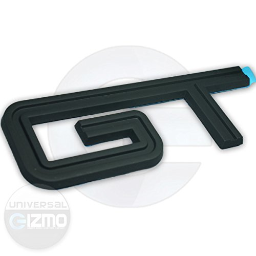 Ford Mustang GT Fender and Trunk Emblems - Matte Black