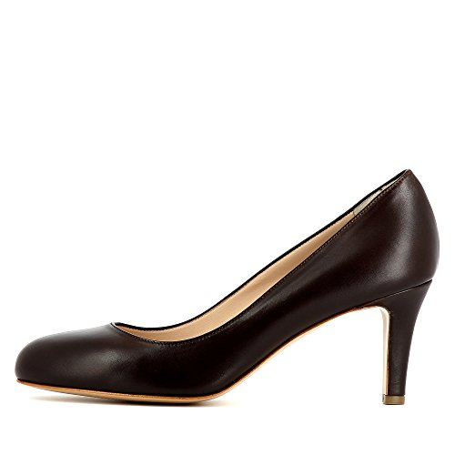 Evita Shoes Bianca - Zapatos de vestir de Otra Piel para mujer marrón oscuro