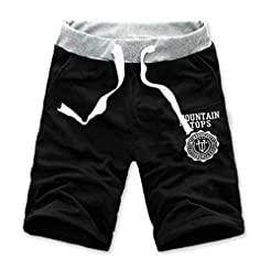 ANJUNIE Mens Cargo Shorts Pants Casual B...