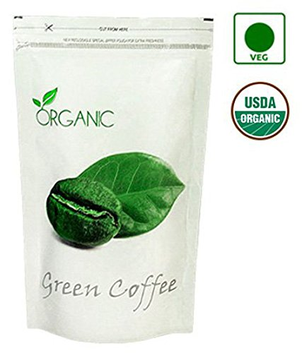 Perennial Lifesciences Organic Green Coffee Beans (Decaffeinated & Unroasted) 100gm