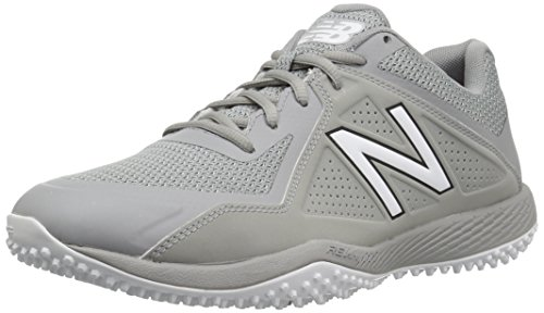 for sale sale online New Balance Men's T4040v4 Turf Baseball Shoe Grey shop for sale free shipping latest collections sale online GpzEYxGw8