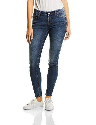 Mw Denim york Donna Blau authentic Jeans Street 11104 Blue Slim Bleach One Slimleg Random Slimfit w5qBABEICf
