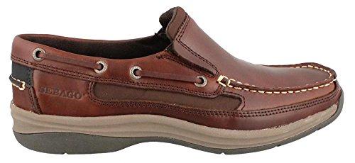 Sebago Men's Bowman Boat Shoe,Brown Smooth, 12 M US