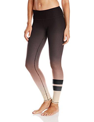Alo Yoga Women's Airbrush Legging, Mink Gradient Small