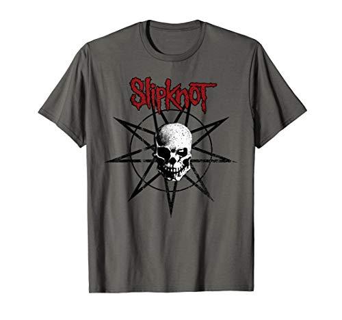 Slipknot Skull Star T-Shirt - Star Slipknot