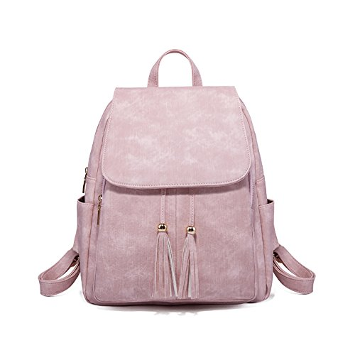 Tisdaini Backpack Pink Sale Soft Small Travel Bags Girls Women Leather for Backpacks rwqUraO