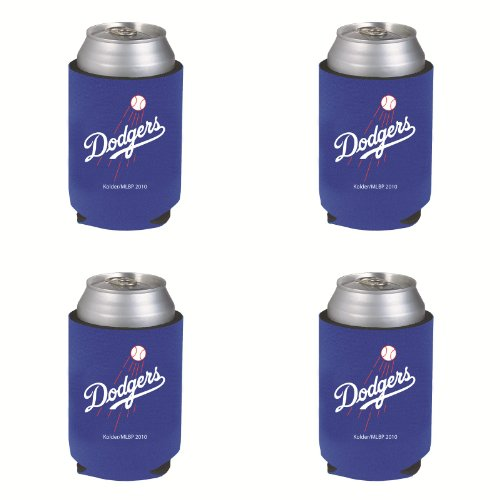 UPC 617258002597, MLB Los Angeles Dodgers Can Koozie 4 pack