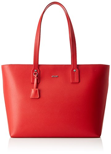 Joop! Pure Kornelia Shopper Lhz - Bolsos maletín Mujer Rojo (Red)