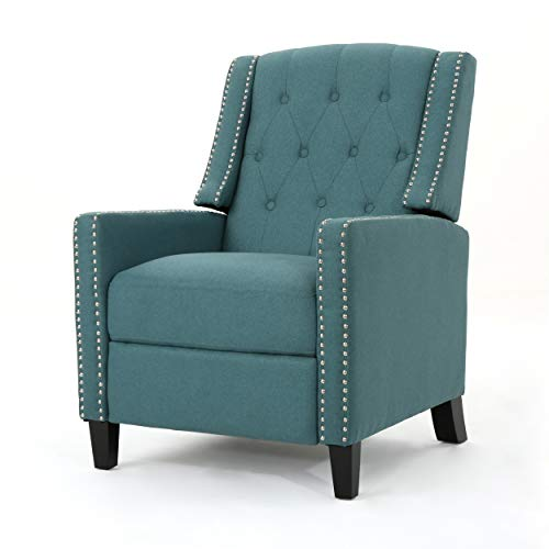 Christopher Knight Home 302413 Izaak Recliner Chair, Dark Teal