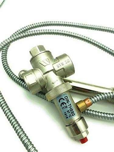 Válvula de descarga térmica STS 20 para caldera de combustible sólido: Amazon.es: Iluminación