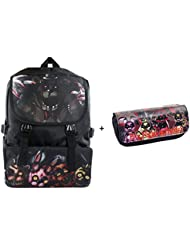16 School Backpack Bag & Pencil Case Bag Box For Five Nights at Freddys Fan