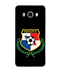 ColorKing Football Panama 09 Black shell case cover for Samsung J5 2016