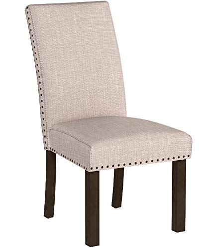 Merax PP036415 Fabric Upholstered Dining...