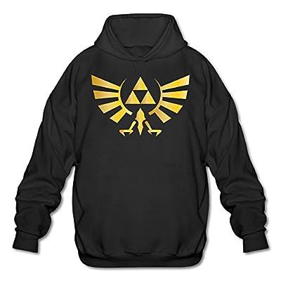 XJBD Men's The Legend Of Zelda Funny Sweater Black