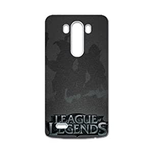 Warm-Dog League Legends Brand New And Custom Hard Case Cover Protector For LG G3