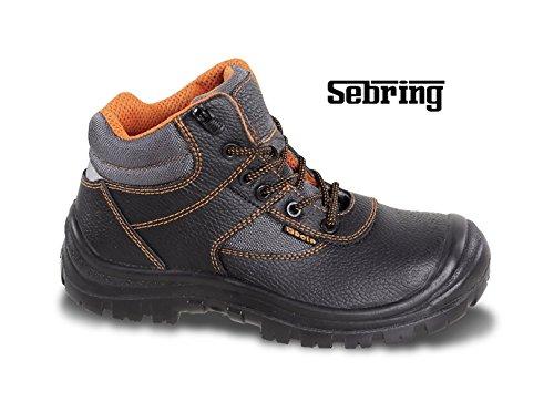 Zapatos de seguridad Alto con rápido sfilamento de piel impermeable Beta Work 7221pe