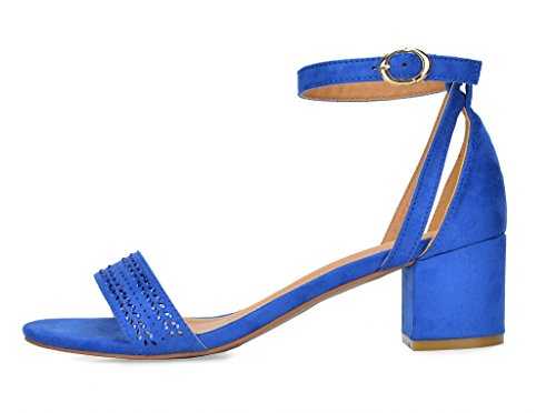 Heel PAIRS Blue Sandal Mona Women's DREAM 05 royal qzxAF7q