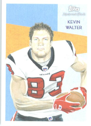 Topps 2009 National Rose Bonbon #C158 Kevin Walter Houston Texans Football État