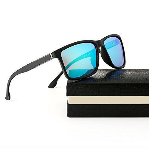 FEIDU Cocoons Fitovers Polarized Sunglasses Aviator (XL) Blue/Matte 2