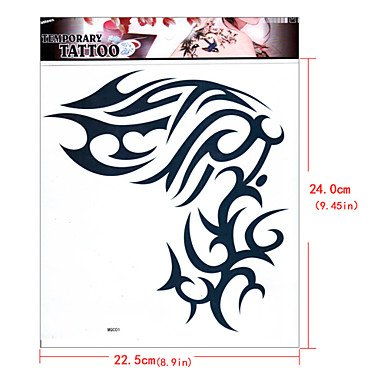 Halloween Dead Famous Celebrity Costumes (Totems Celebrity Tattoo Stickers Temporary Tattoos(1)