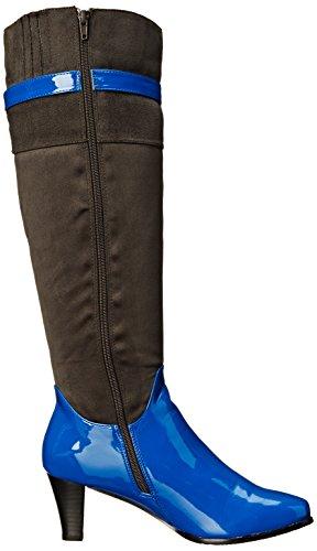 Chaussures Annie Femme Veronica Botte De Neige Gris Daim