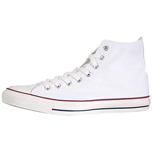Converse Unisex Chuck Taylor High Top Sneaker (Optical Wh...