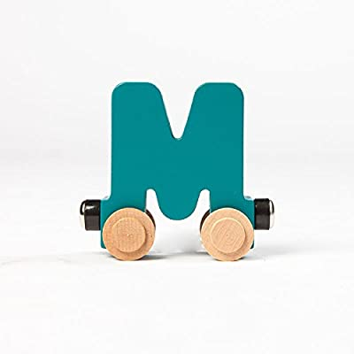 Fat Brain Toys Spell-Your-Name Alphabet Railroad - Letter M Classic & Retro Toys for Ages 3 to 4: Toys & Games