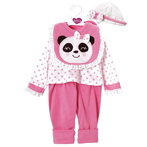 Adora Pandarrific Outfit Dress Clothes Outfit Set Pack for 18 Inch Dolls