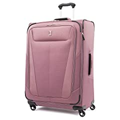 """Finally, big doesn't have to mean heavy. The Maxlite 5 29"""" Expandable Spinner is the lightweight, super durable, full-size checked bag you've been looking for. Ideal for longer trips, this large spinner suitcase keeps everything organized wit..."""