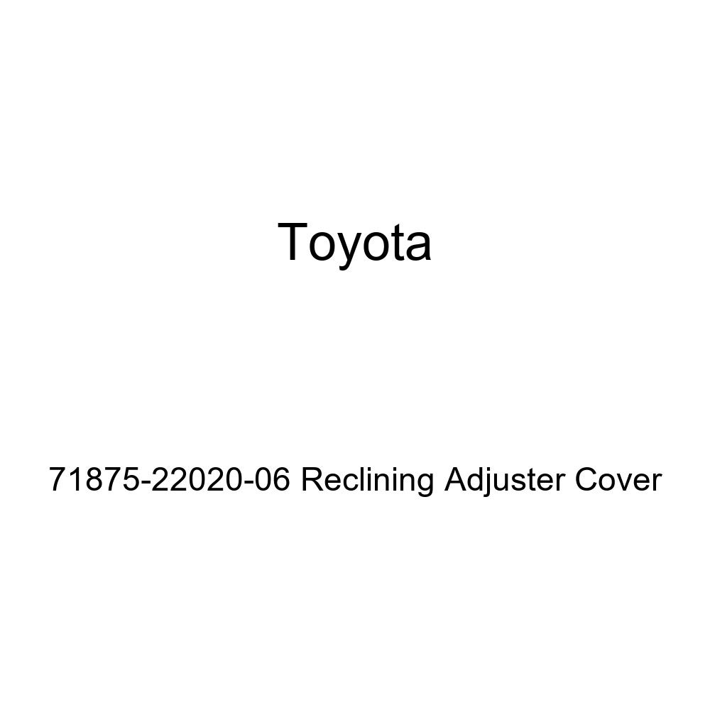 TOYOTA Genuine 71875-22020-06 Reclining Adjuster Cover