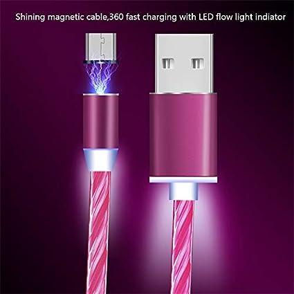 Amazon.com: Brillante cargador magnético cable de carga para ...