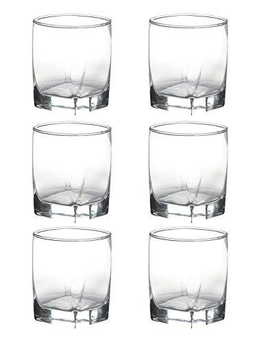 LUMINARC Glass Set 300 ml, Multicolour, Pack of 6