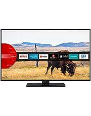JVC LT-43V55LFA LED-Televisie, 109 cm (43 inch), (Full HD, Triple-Tuner, Smart Tv, Prime Video, Bluetooth), Zwart