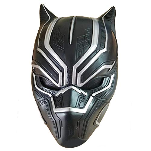 Black Panther Mask Latex Face Helmet Decoration Theme Party Props Halloween Costume Accessory Adult