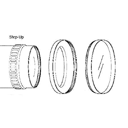 Phot-R/® 37-43mm Metal Step-Up Ring Adapter for Camera Filters and Lenses