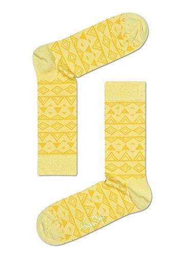 Détente Homme Happy Pastel Yellow Socks Temple 8UTZwfq