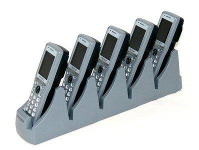 KEYENCE キーエンス BT-1000B バーコードハンディターミナル×5台 Bluetoothタイプ BT-B10 標準充電池パック×5個 BT-UC15 5連充電ユニット のセット B00EXF7REA