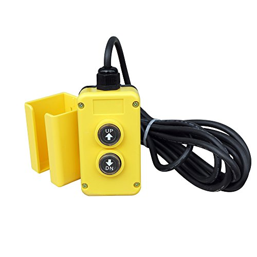 Control Hydraulic Pump (12V 4 Wire Dump Trailer Remote Control Switch fits Double Acting Hydraulic Pumps)