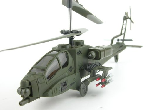 3 Channel Indoor Helicopter (SYMA S009G AH-64 Apache 3 Channel Indoor Helicopter with Gyroscope)