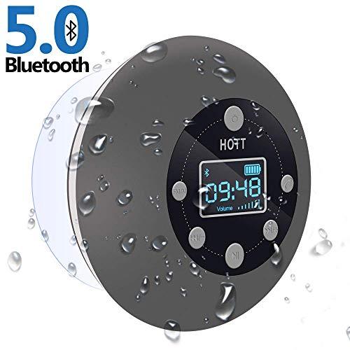 CIYOYO Shower Suction Cup Radio Bluetooth Speaker
