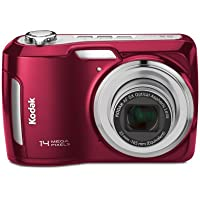 Kodak Easyshare C195 Digital Camera (Red) (Discontinued by Manufacturer) Noticeable Review Image