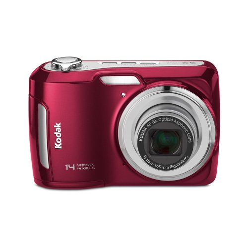 Kodak Easyshare C195 Digital Camera (Red) (Discontinued by ()