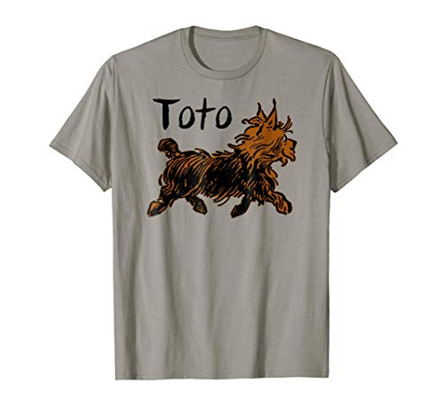 Toto Wizard of OZ Dog Shirt-Cute Fairytale -