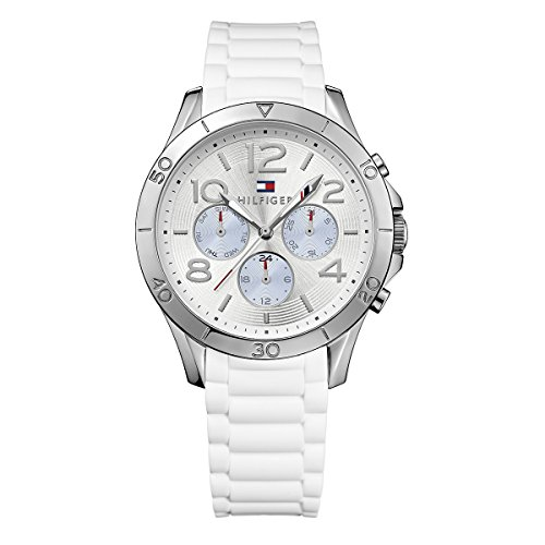 Tommy Hilfiger Harbor Multifunction White Silicone Women's watch #1781529